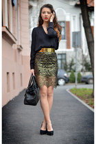 gold Rosewholesale skirt