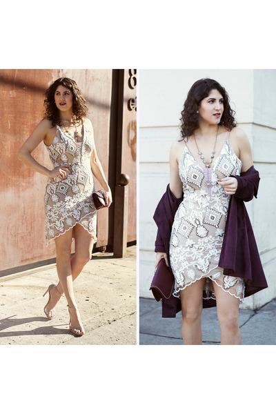 white Nordstrom dress