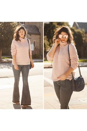 light pink Halogen sweater