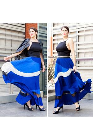 blue Express skirt