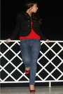 Red-sweater-black-h-m-jacket-black-h-m-accessories-blue-zara-jeans-red-s
