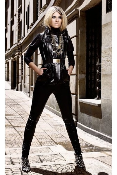 Leather Jacket Leggings