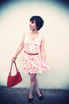 White Stuff dress - Office shoes - Radley bag - Laura Ashley necklace