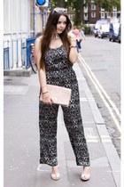 Accessorize purse - H&M pants - Chanel wedges