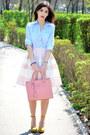 Sky-blue-koton-shirt