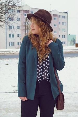 crimson h&m divided boots - dark brown Marks&Spencer hat