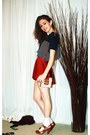 American-apparel-dress-vintage-t-shirt-urban-outfitters-bag-zara-shoes