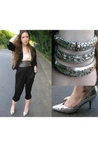 Mossimo blazer - forever 21 top - H&M pants - Impo shoes - vintage bracelet