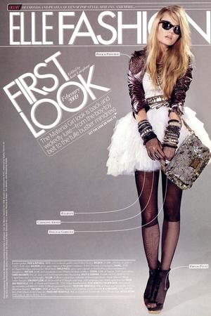 Balmain dress - Rock & Republic jacket - Carolina Amato gloves - Dolce & Gabbana