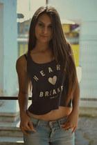zara jeans - hm t-shirt