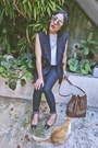 Navy-forever-21-jeans-dark-brown-vintage-bag-navy-high-waisted-vintage-vest