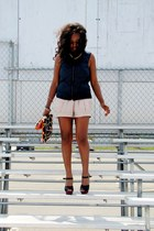 Kaela-Kay bag - H&M shorts - H&M vest - Zara sandals