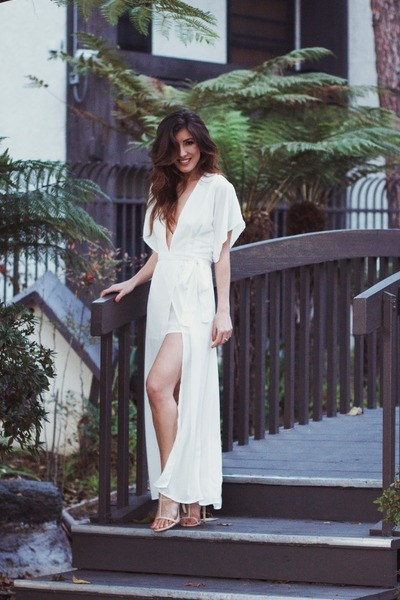 white Lioness dress
