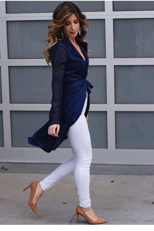 navy hot miami styes jacket