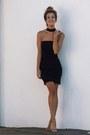 Black-bebe-dress