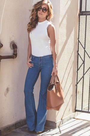 blue JustFab jeans