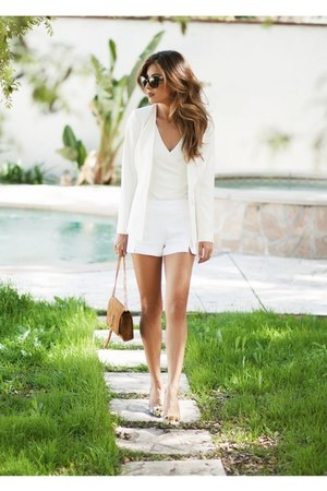 white Ramy Brook shorts