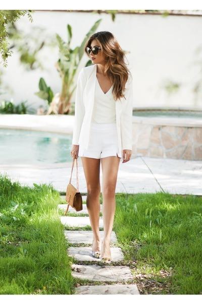 white Ramy Brook shorts
