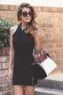 Black-private-cartel-dress-ruby-red-vince-camuto-bag