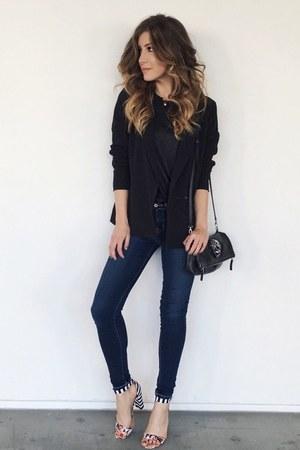white JustFab heels
