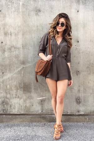 olive green 2020AVE romper