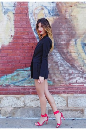 black Nasty Gal romper