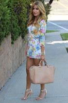 ivory wwwshoptobicom romper - camel Forever 21 heels