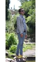 Zara shirt - H&M shoes - Religion London pants