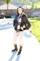 Target jacket - scarf - Ebay boots
