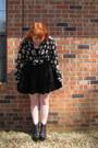 Skull-print-blouse-black-vegan-jeffrey-campbell-boots