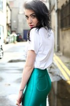 disco pants American Apparel pants - band tee Urban Outfitters t-shirt