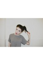 cropped tee American Apparel t-shirt