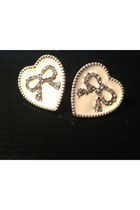 Leather and Sequins earrings