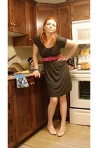 Wal Mart dress - shoes