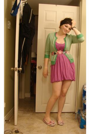 Old Navy sweater - garage dress - Betsey Johnson