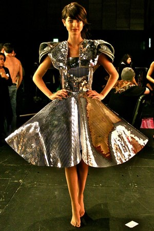 The BINTM Live Catwalk Show 2011 dress