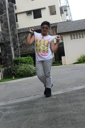 ANDROGYNE shirt - androgynekaren walker sunglasses