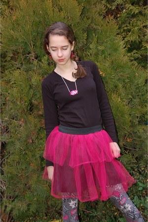 hot pink tulle StyleByRachel skirt