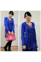 blue no brand dress
