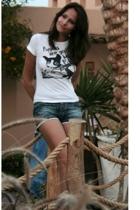 Zara t-shirt - pull&bear shorts