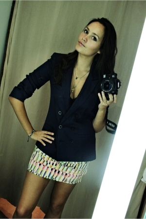Topshop jacket - Topshop skirt