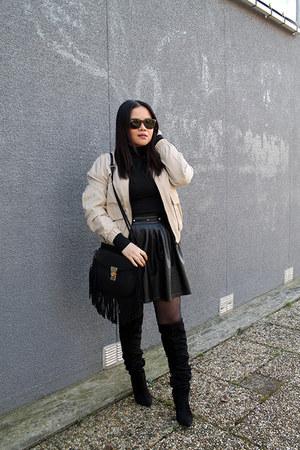 H&M jacket - turtleneck vest