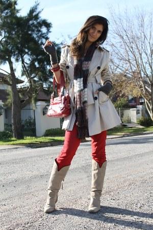 ivory Zara coat
