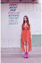 Orange-dress-dress