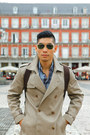 Tan-trench-coat-31-phillip-lim-coat-blue-uniqlo-jeans-sky-blue-merona-shirt