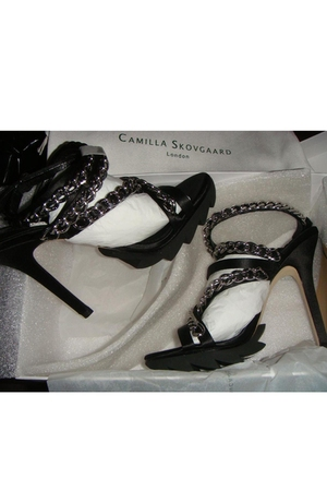 black Camilla Skovgaard shoes