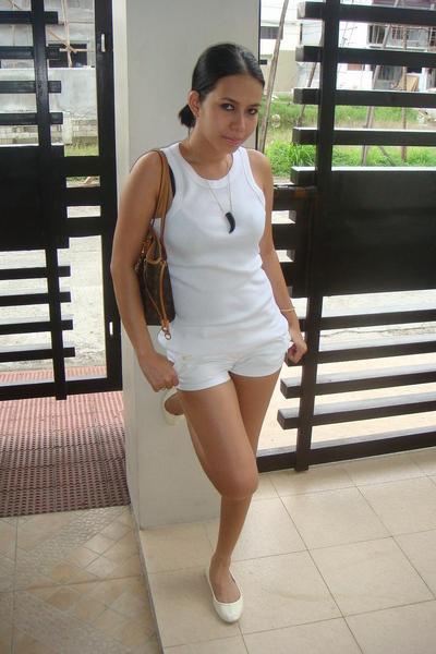 River top - F&H shorts - Prada shoes