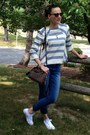 Blue-skinny-jeans-h-m-jeans-dark-brown-louis-vuitton-purse