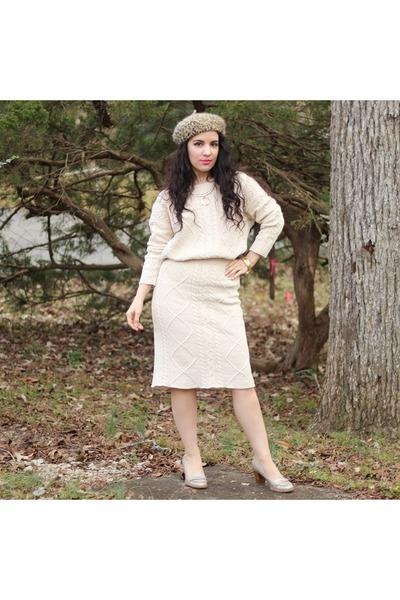 sweater - skirt