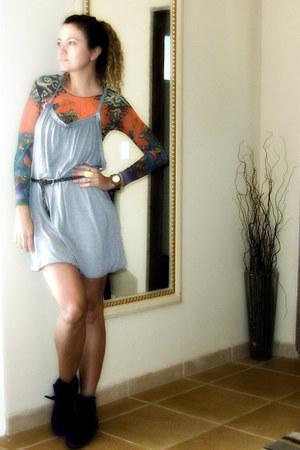 silver W Fashion dress